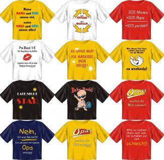 Fun Collection T-Shirt Baby-Shirt Baby Shirt Geschenk Auswahl lustig bedruckt