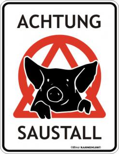 FunSchild - Achtung Saustall