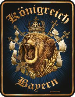 Nostalgie Blechschilder - Königreich Bayern