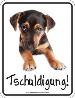 FunSchild - Hund Tschuldigung