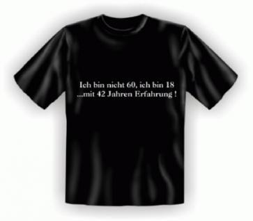 Geburtstag T-Shirt - 60 mit Erfahrung