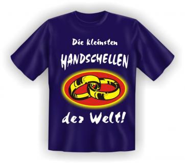 T-Shirt - Die kleinsten Handschellen der Welt