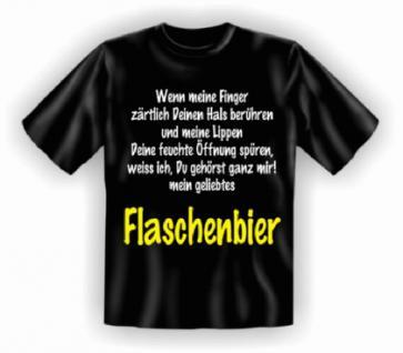 Fun T-Shirt - Flaschenbier - Vorschau