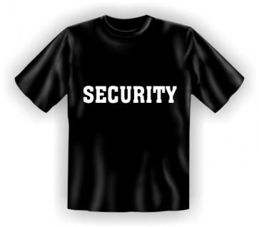 T-Shirt - Security
