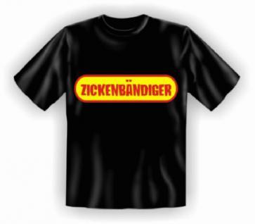 T-Shirt - Zickenbändiger - Vorschau 1