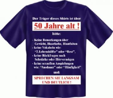 Geburtstag T-Shirt - Langsam mit 50 - Vorschau