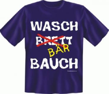 Fun T-Shirt - Waschbärbauch - Vorschau