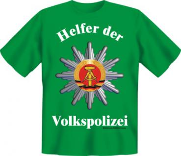 T-Shirt - Helfer der Volkspolizei - Vorschau 1