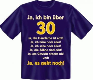 Geburtstag T-Shirt - Ja es geht mit 30 - Vorschau 1