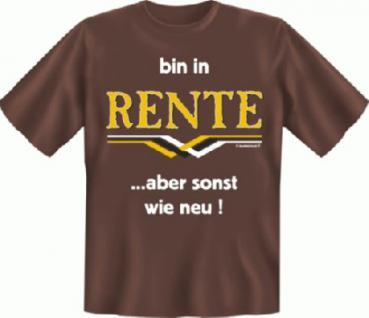 Ruhestand T-Shirt - Bin in Rente - Vorschau