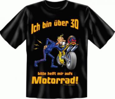 Geburtstag T-Shirt - Motorrad mit 30 - Vorschau