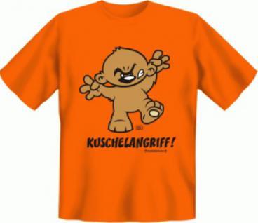 Fun T-Shirt - Kuschelangriff