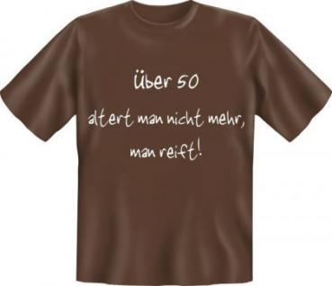 Geburtstag T-Shirt - Reif mit 50 - Vorschau