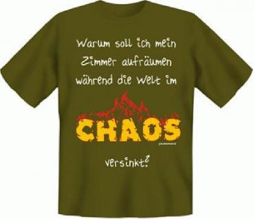 T-Shirt - Die Welt im Chaos