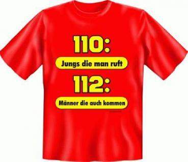 T Shirt - Feuerwehr 112