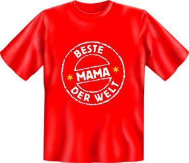 Muttertag T-Shirt - Beste Mama der Welt - Vorschau