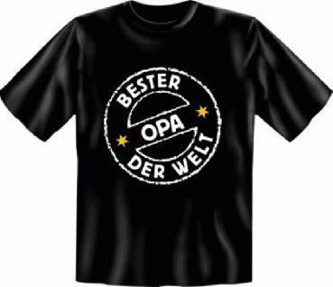 Geburtstag T-Shirt - Bester Opa der Welt
