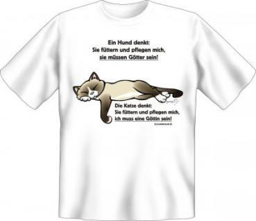 T-Shirt - Katzen Göttin
