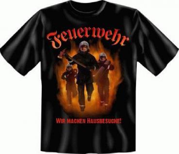 T Shirt - Feuerwehr Hausbesuche - Vorschau