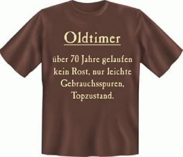 Geburtstag T-Shirt - Oldtimer 70
