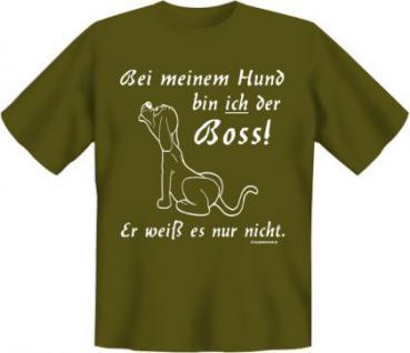 Fun T-Shirt - Boss vom Hund
