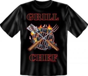 Fun T-Shirt - Grill Chef Grillchef