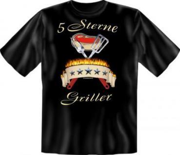 Grill T-Shirt - 5 Sterne Griller - Vorschau 1