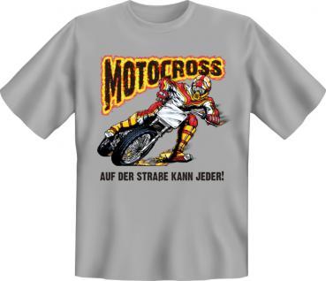 Biker T-Shirt - Motocross - Vorschau 1
