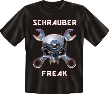 T-Shirt - Schrauber Freak - Vorschau