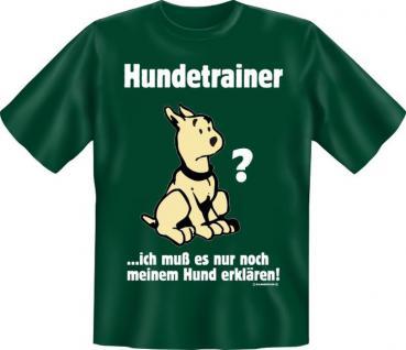 T-Shirt - Hundetrainer - Vorschau