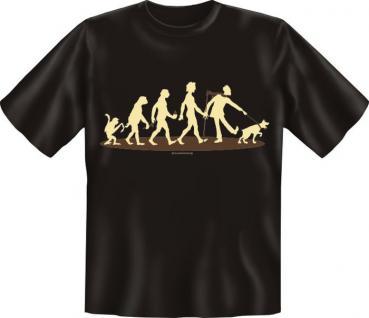 T-Shirt - Evolution Hund Gassi