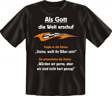 Biker T-Shirt - Steine zu weich - Vorschau 1
