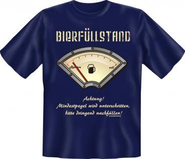 T-Shirt - Bierfüllstand - Vorschau