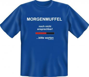 T-Shirt - Morgenmuffel - Vorschau