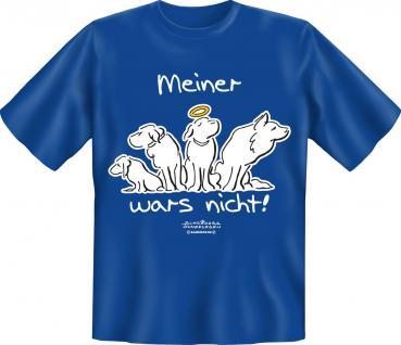 T-Shirt - Hund Meiner wars nicht