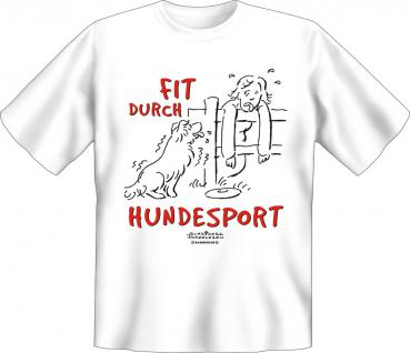 T-Shirt - Fit durch Hundesport
