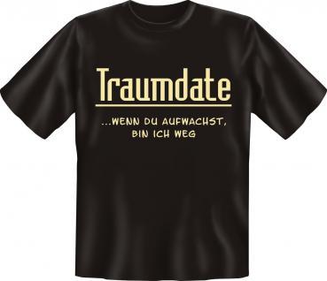 Fun T-Shirt - Traumdate - Vorschau
