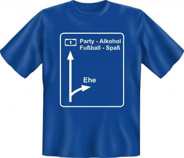 T-Shirt - Letzte Ausfahrt Ehe