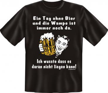 T-Shirt - Ein Tag ohne Bier