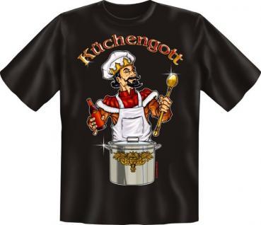 T-Shirt - Küchengott - Vorschau 1