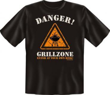 Grill T-Shirt - Danger Grillzone