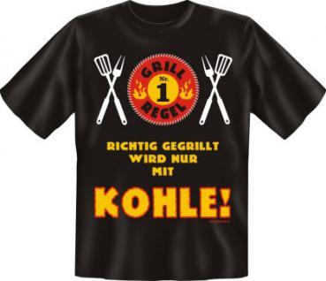 Grill T-Shirt - Grillregel 1 - Vorschau