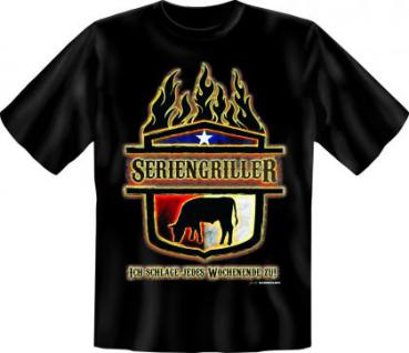 Grill T-Shirt - Seriengriller