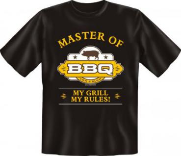Grill T-Shirt - Master of BBQ