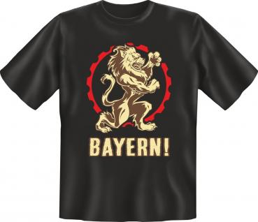 T-Shirt Bayern Löwe Oktoberfest Shirt Bavaria Geburtstag Geschenk geil bedruckt