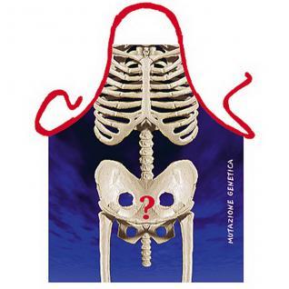 Grillschürzen - Skelett - Vorschau 1