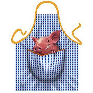 Grillschürzen - Schweinchen - Vorschau 1