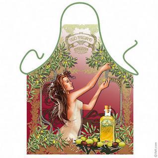 Grillschürzen - Olivenernte
