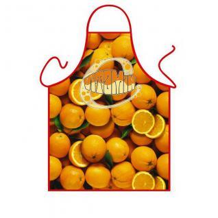 Grillschürzen - Orangen