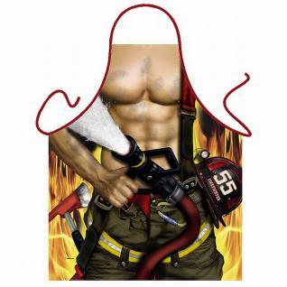 Grillschürzen - Feuerwehrmann - Vorschau 1